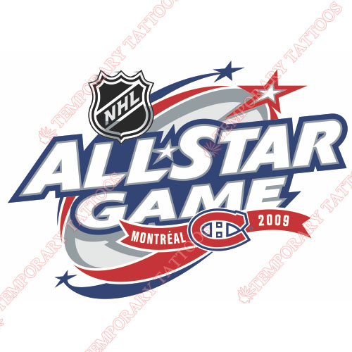 NHL All Star Game Customize Temporary Tattoos Stickers NO.12