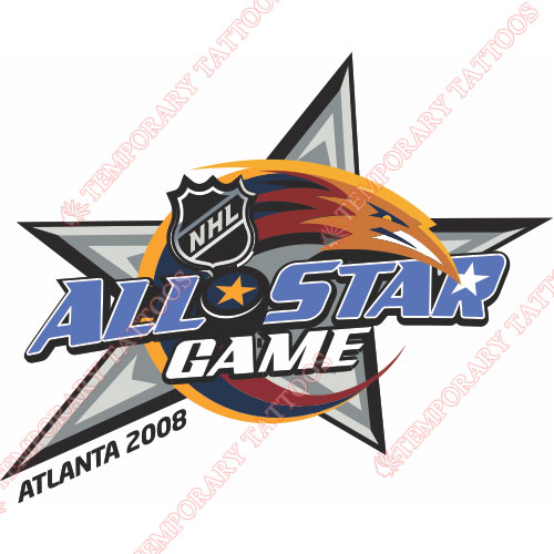 NHL All Star Game Customize Temporary Tattoos Stickers NO.13