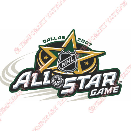 NHL All Star Game Customize Temporary Tattoos Stickers NO.14