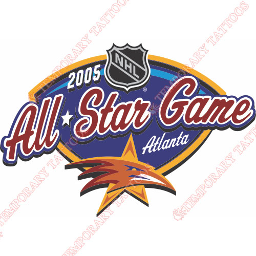NHL All Star Game Customize Temporary Tattoos Stickers NO.15