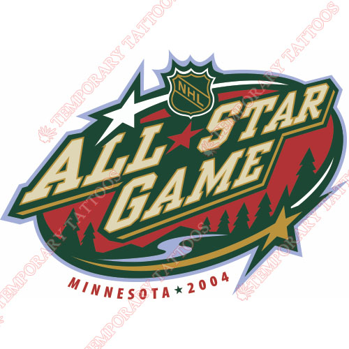 NHL All Star Game Customize Temporary Tattoos Stickers NO.16