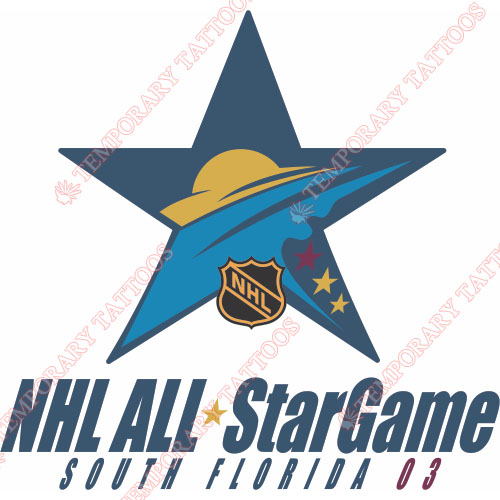 NHL All Star Game Customize Temporary Tattoos Stickers NO.17