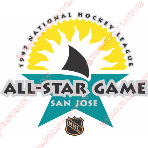 NHL All Star Game Customize Temporary Tattoos Stickers NO.19
