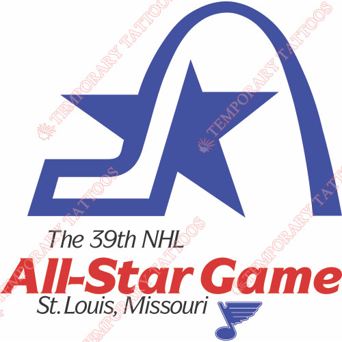 NHL All Star Game Customize Temporary Tattoos Stickers NO.20