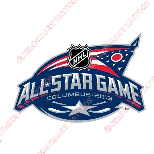 NHL All Star Game Customize Temporary Tattoos Stickers NO.22