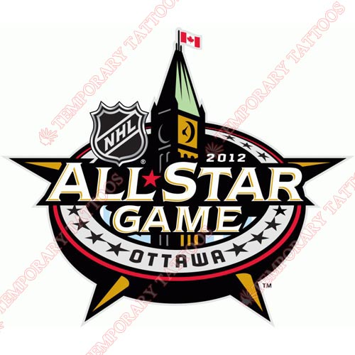 NHL All Star Game Customize Temporary Tattoos Stickers NO.24
