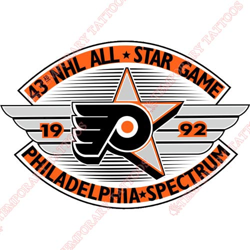 NHL All Star Game Customize Temporary Tattoos Stickers NO.25