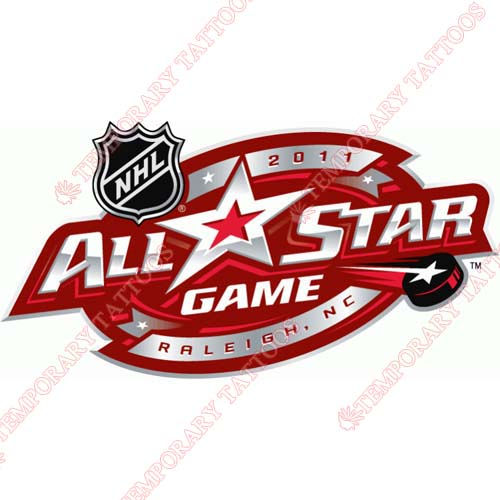 NHL All Star Game Customize Temporary Tattoos Stickers NO.27