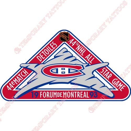 NHL All Star Game Customize Temporary Tattoos Stickers NO.28