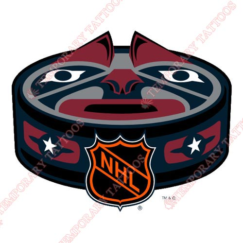 NHL All Star Game Customize Temporary Tattoos Stickers NO.30