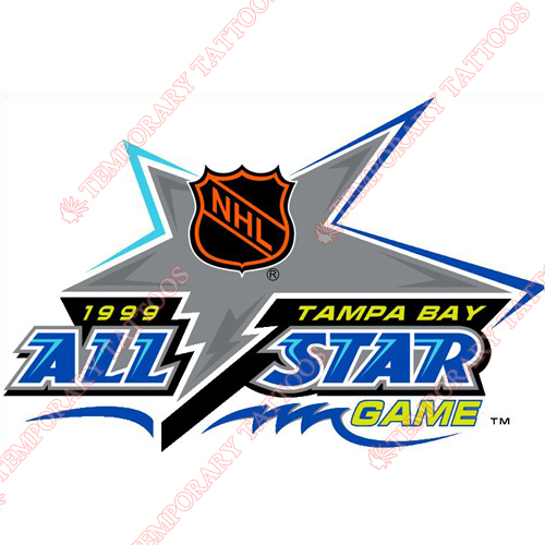 NHL All Star Game Customize Temporary Tattoos Stickers NO.32