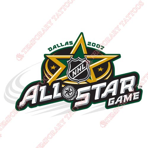 NHL All Star Game Customize Temporary Tattoos Stickers NO.33