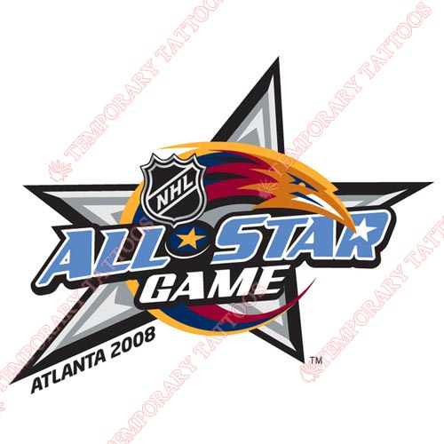 NHL All Star Game Customize Temporary Tattoos Stickers NO.34