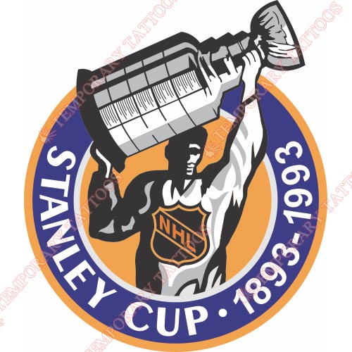 NHL All Star Game Customize Temporary Tattoos Stickers NO.7