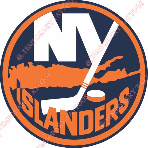 New York Islanders Customize Temporary Tattoos Stickers NO.227