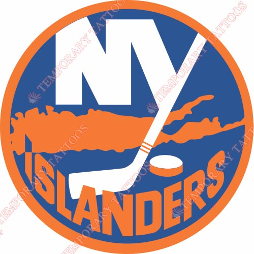 New York Islanders Customize Temporary Tattoos Stickers NO.228