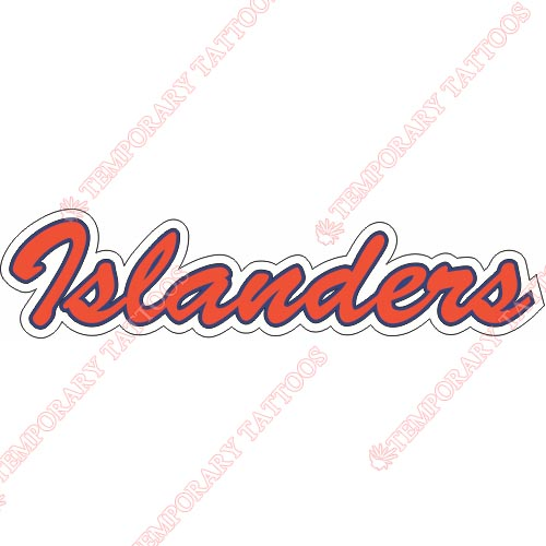 New York Islanders Customize Temporary Tattoos Stickers NO.231
