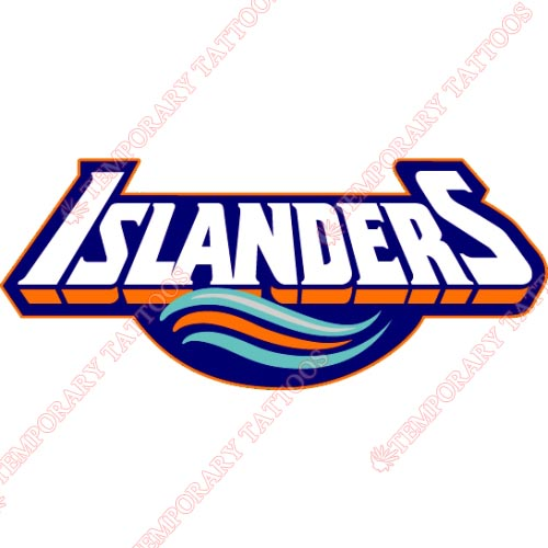 New York Islanders Customize Temporary Tattoos Stickers NO.232