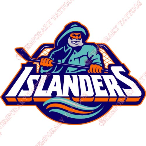 New York Islanders Customize Temporary Tattoos Stickers NO.233