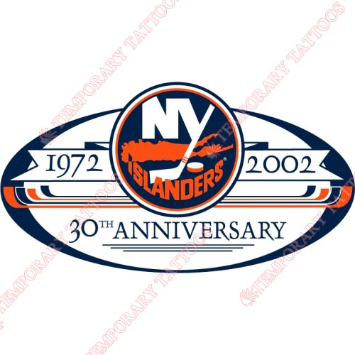 New York Islanders Customize Temporary Tattoos Stickers NO.235