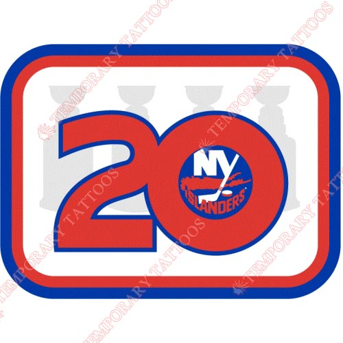 New York Islanders Customize Temporary Tattoos Stickers NO.237
