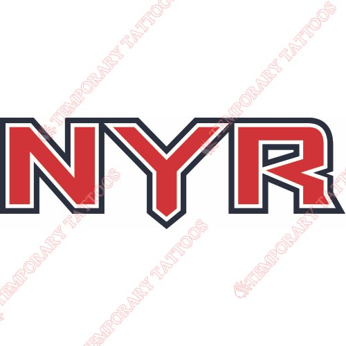 New York Rangers Customize Temporary Tattoos Stickers NO.240