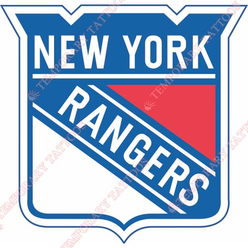 New York Rangers Customize Temporary Tattoos Stickers NO.241