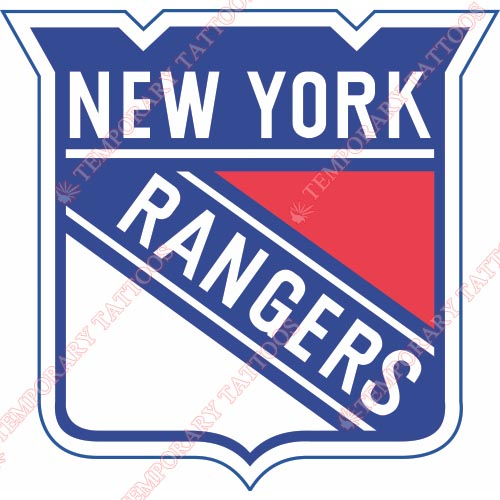 New York Rangers Customize Temporary Tattoos Stickers NO.242