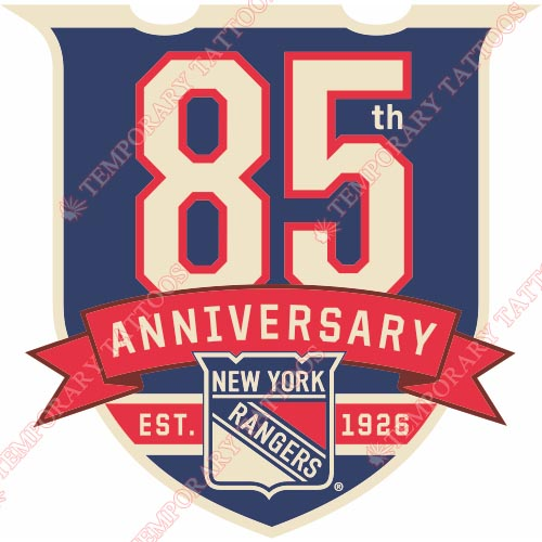 New York Rangers Customize Temporary Tattoos Stickers NO.243