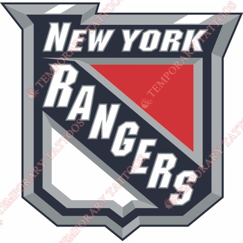 New York Rangers Customize Temporary Tattoos Stickers NO.246