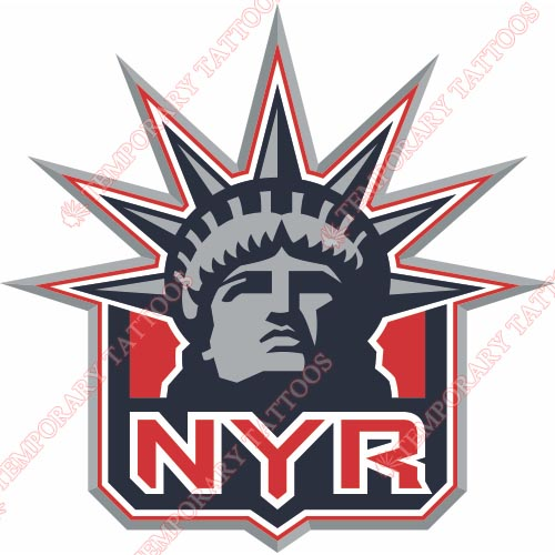 New York Rangers Customize Temporary Tattoos Stickers NO.247