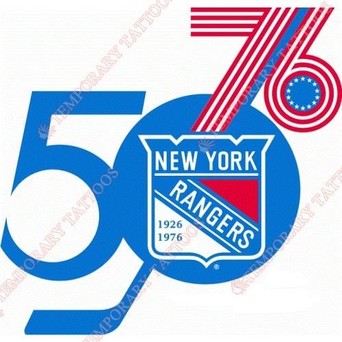 New York Rangers Customize Temporary Tattoos Stickers NO.249