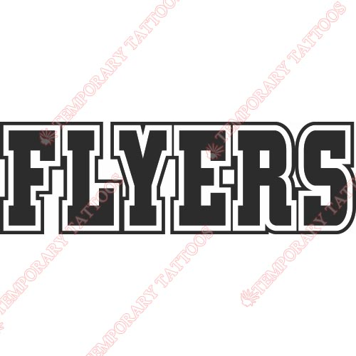 Philadelphia Flyers Customize Temporary Tattoos Stickers NO.282