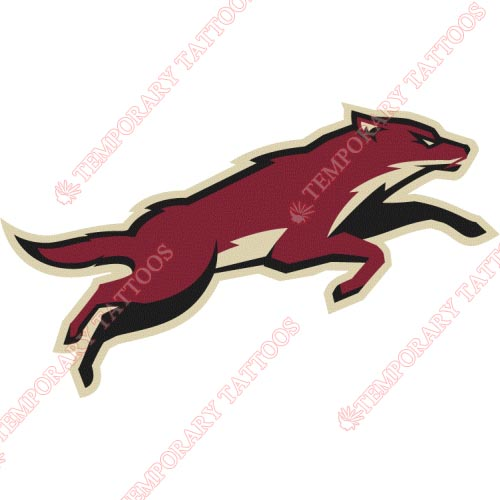 Phoenix Coyotes Customize Temporary Tattoos Stickers NO.294