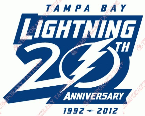 Tampa Bay Lightning Customize Temporary Tattoos Stickers NO.332