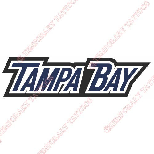 Tampa Bay Lightning Customize Temporary Tattoos Stickers NO.333