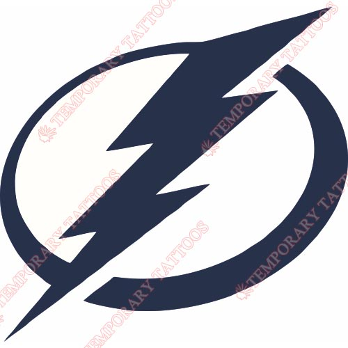 Tampa Bay Lightning Customize Temporary Tattoos Stickers NO.334