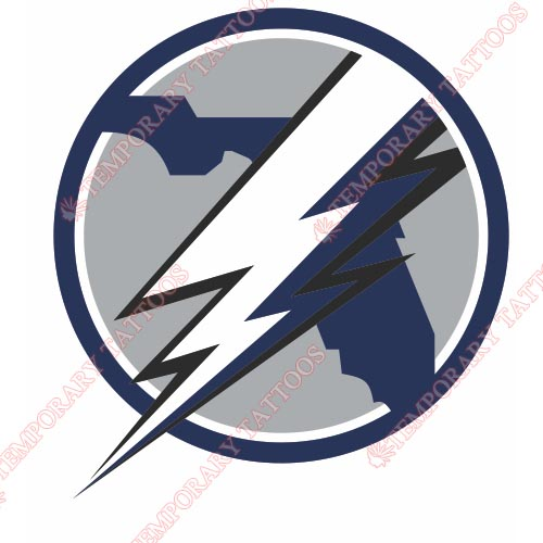 Tampa Bay Lightning Customize Temporary Tattoos Stickers NO.339