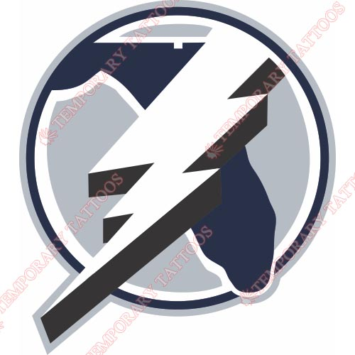 Tampa Bay Lightning Customize Temporary Tattoos Stickers NO.340