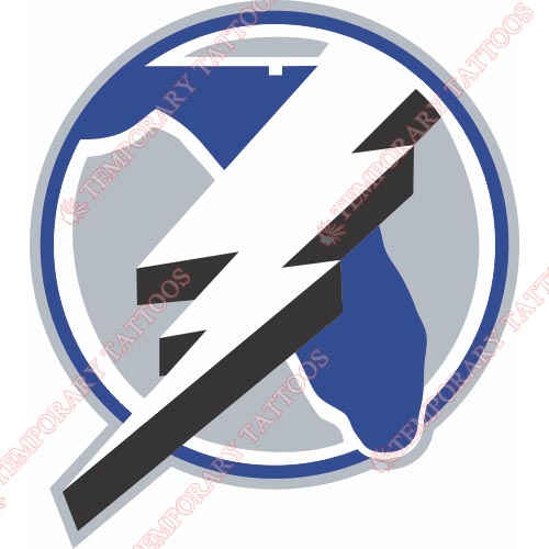 Tampa Bay Lightning Customize Temporary Tattoos Stickers NO.341