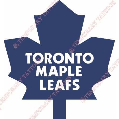 Toronto Maple Leafs Customize Temporary Tattoos Stickers NO.346