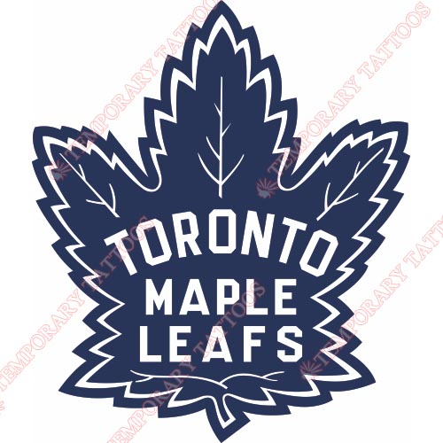 Toronto Maple Leafs Customize Temporary Tattoos Stickers NO.347
