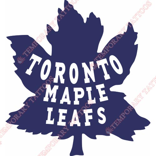 Toronto Maple Leafs Customize Temporary Tattoos Stickers NO.348