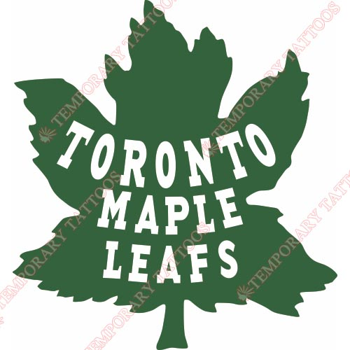 Toronto Maple Leafs Customize Temporary Tattoos Stickers NO.349