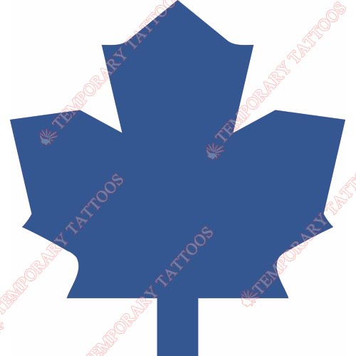 Toronto Maple Leafs Customize Temporary Tattoos Stickers NO.353