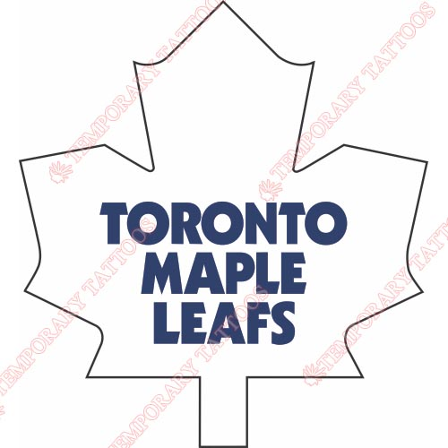 Toronto Maple Leafs Customize Temporary Tattoos Stickers NO.354