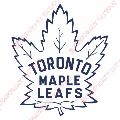 Toronto Maple Leafs Customize Temporary Tattoos Stickers NO.355