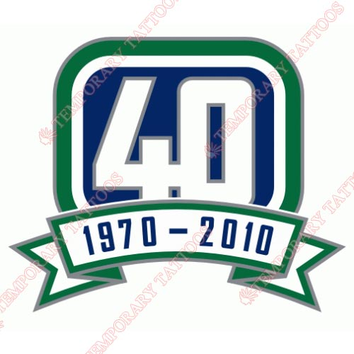 Vancouver Canucks Customize Temporary Tattoos Stickers NO.364
