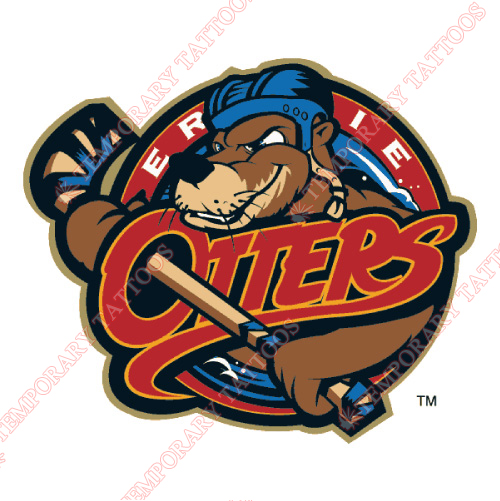 Erie Otters Customize Temporary Tattoos Stickers NO.7322