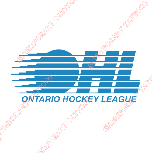 Ontario Hockey League Customize Temporary Tattoos Stickers NO.7353